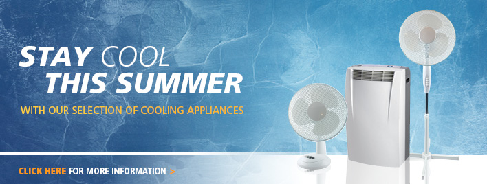 Stay Cool this summer - Order Now!