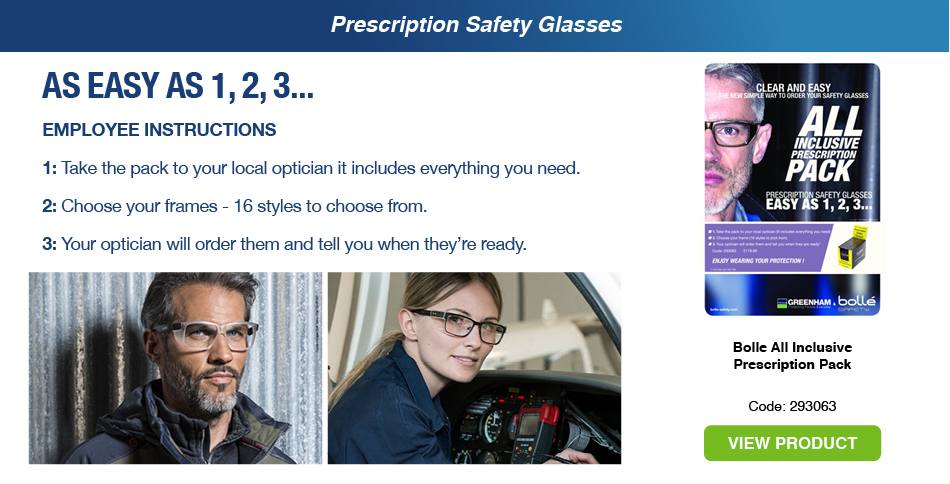 Prescription Safety Glasses