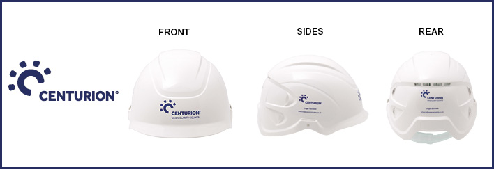 Corporate Helmet Branding