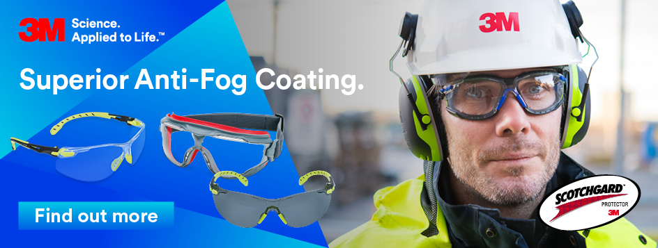 New 3M Anti-Fog Eyewear Now Available