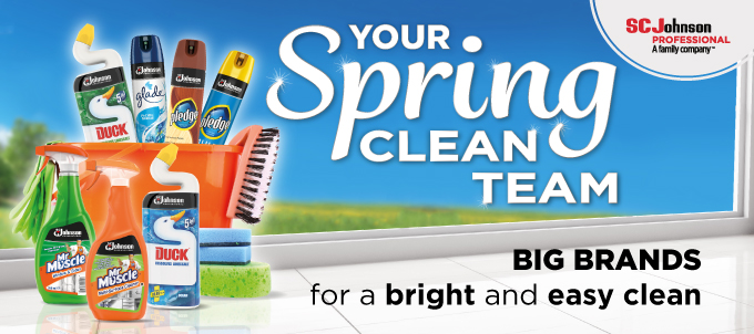 Big Brands for bright and easy clean
