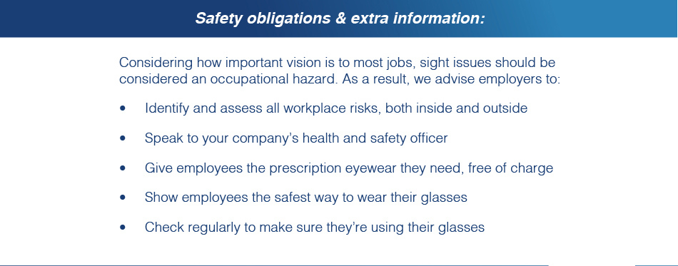Safety obligations & extra information