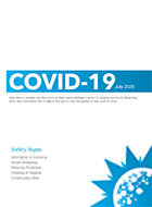 Signage for Safety Covid-19