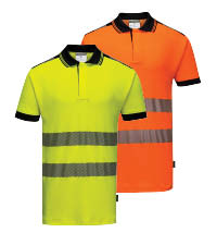 portwest hi-vis polo