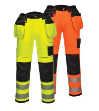 portwest hi-vis trousers