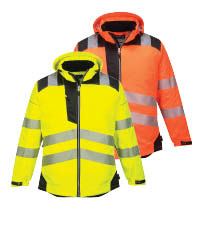 Portwest vision rain jacket