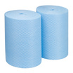 CleanWorks Cleaning Cloths Centrefeed Roll - Blue