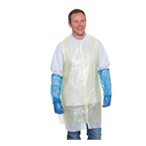 Catersafe Disposable Bib Aprons Yellow