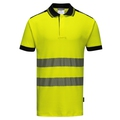 Portwest Hi-Vis Vision Polo Shirt Yellow