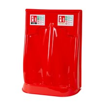 Plastic Double Fire Extinguisher Stand