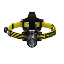 LED Lenser iLH8R Atex Rechargeable Head Torch
