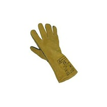 Glove GLO15YRP Yellow/Black Gauntlet Reinforced Palm