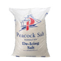 White De-Icing Rock Salt Bags