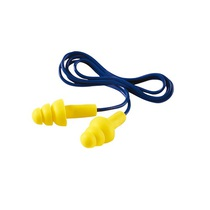 3M EAR Ultrafit Moulded Corded Ear Plugs