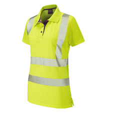 KeepSAFE Ladies Coolviz Plus Polo Shirt