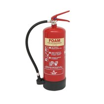KeepSAFE AFFF Foam Fire Extinguisher (Class A & B) 6 Litre