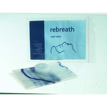 Rebreath Mouth to Mouth Resuscitator Mask