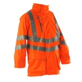 Pulsarail  EN 471 High Visbility GO/RT Breathable Storm Coat