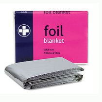 Foil Adult Emergency Blanket Pack of 10