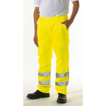 Keep Safe EN471 High Visibility Polycotton Cargo Trousers - Tall