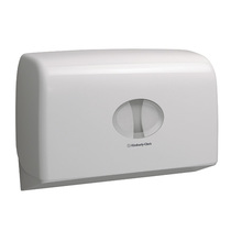 6947 AQUARIUS* Twin Small Roll Jumbo Toilet Tissue Dispenser