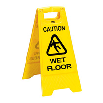 CleanWorks Caution Wet Floor Sign