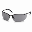 UVEX Winner Metal Frame Safety Spectacles K&N Rated Grey Anti-Scratch/Anti-Mist Lens