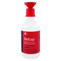 Redcap™ Eye Wash and Skin Flush 500ml Bottle with Cap