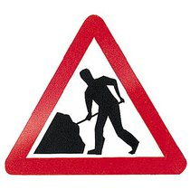 Dia 7001 (564) Road Works Sign 60CM