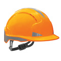JSP Evolite CR2 Reflective Slip Ratchet Safety Helmet - Orange