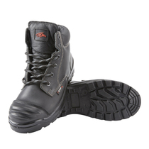 Perf Side Zip Safety Boot with Midsole