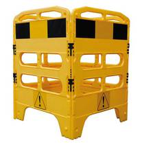 Melba Swintex Utility Barrier - Yellow/Black