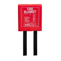 Rigid Case Fire Blanket 1.2 x 1.2M
