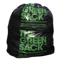 CleanWorks Extra Heavy Duty Black Polythene Refuse Sack