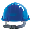 Keep Safe Pro Comfort Plus Full Peak Safety Helmet - Blue