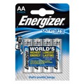 Energizer Lithium Battery Type AA Pack of 4