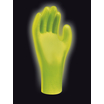 Showa 7570 Hi Vis Green Accelerator Free Nitrile Disposable Glove