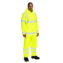 Keep Safe High Visibility Waterproof Safety Trousers