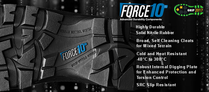 Force 10 - Advanced durability components