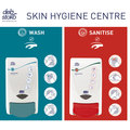 Deb Stoko 2-Step Wash & Sanitise Board + 2 x 1L Dispensers