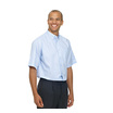 Double Two Polycotton Oxford Weave Wrinkle Free Cotton Rich Short Sleeve Shirt
