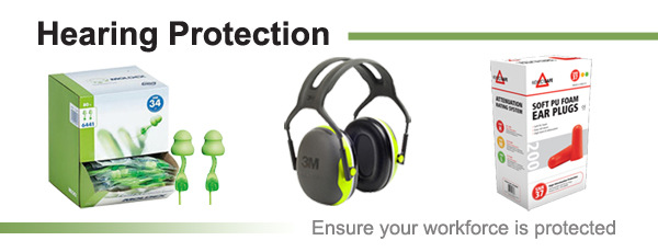 Hearing protection - Ensure your workforce is protected.