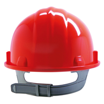 Keep Safe Pro Comfort Plus Full Peak Safety Helmet - Red
