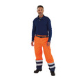 Roots Full Option Waterproof Trouser Navy/Yellow