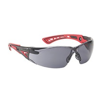 Bolle RUSH+ Safety Spectacles K & N Rated Smoke Lens