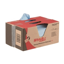 7400 Wypall L20 Extra Wiper 2Ply Blue 280 Sheet