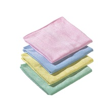 CleanWorks Microfibre Cloths - Yellow Pack of 10