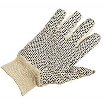 Keep Clean Polka Dot Standard Cotton Knitwrist Glove