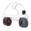 JSP Sonis 3 Safety Helmet Mounted Ear Defenders