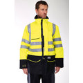 Sioen High Visibility Flame Retardant Anti-Static Arc Rain Jacket